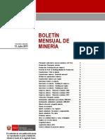 BOLETIN MINERIA 0711