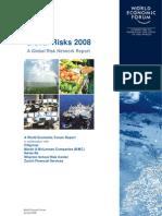 Global Risk Report 2008