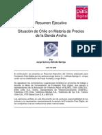 Situacion de Chile en Materia de Precios de La B. a,