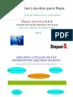 Detergentes Liquidos Para Ropa- STEPAN-DISAN-2010