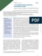 Influence of Obesity on Propofol Pharmacokinetics