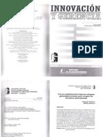 Proceso Administrativo Bajo Los Enfoques Gerenciales Actuales Para Integrar Las Funciones Universitarias