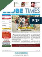Southwest Globe Times -- Aug. 25, 2011