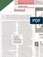 Editorial de La Razón en torno al Programa Baba Carapa