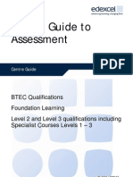 Centre Guide to Assessment