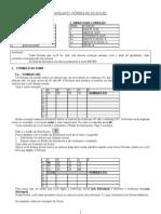 Apostila de Frmulas Excel