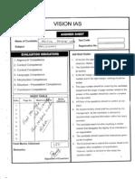 Answer Sheet Philosophy Aditya Pratap Singh Rank 166 Marks 374 Vision Ias