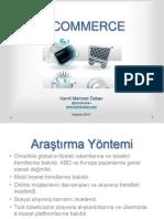 E Commerce Dünya ve Türkiye Trendler