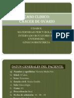 Caso Clinico CA Ovario