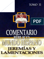 Cbmh Tomo 11 Jeremias y Lamentaciones