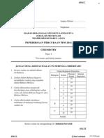 2011 PSPM Kedah Chemistry 2 w Ans