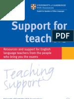 Support Teachers