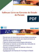 SoftwareLivreGovernoEstadoParana