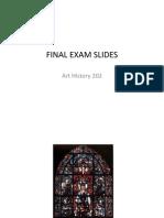 Final Exam Slides