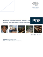 Assessing the Foundations of Mexico's Competitiveness