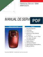 SGH-C275L - Manual de serviço