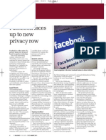 Facebook faces up to new privacy row | Big Issue in the North