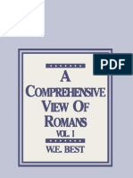 A Comprehensive View of Romans-Vol I