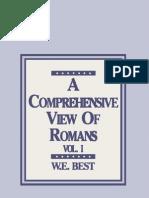 A Comprehensive View of Romans-Vol I