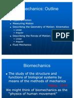 Bio Mechanics