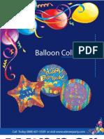 Wholesale Balloon Catalog