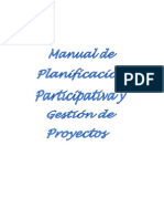 Manual de Planificacion Participativa y Gest Proy