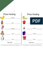 Math Price Hunt