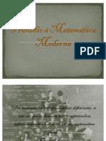 Prelúdio à Matemática Moderna 2