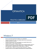 Practica Dirigida de Windows 7