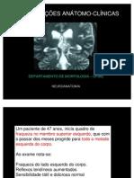 CORRELAÇÕES ANATOMO CLÍNICAS