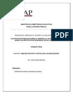 Trabajo Final Analisis Politico y Social Odracir Espinoza