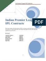 IPL Contracts