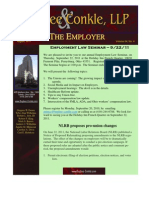 The Employer August 2011