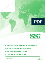 China-Latin America Military Engagement