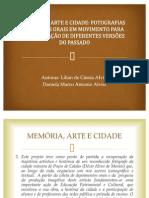 Memoria Arte e Cidade