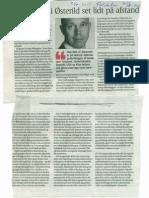 Testcentret i Østerild set lidt på afstend. Jan Hylleberg. Politiken 21.08.2011