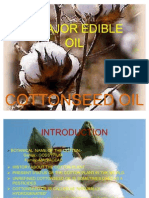 A Major Edible Oil Cottonseed Oil
