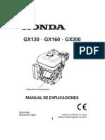 Motor HONDA GX