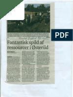 Fantastisk Spild Af Ressourcer, Jens Thøgersen, Thisted Dagblad 08.08.2011