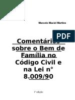 2600315-COMENTARIOS-SOBRE-O-BEM-DE-FAMILIA-NO-CODIGO-CIVIL-E-NA-LEI-800990