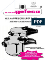 Manual Olla Magefesa Favorit