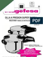 Manual Olla Magefesa Favorit