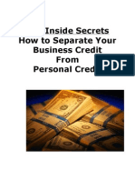 How_To_Separate Personal Credit Today