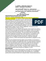 CALIFORNIA CASE WHERE HOMEOWNER GOT INJUNCTION DUE TO IMPROPER FORECLOSURE PROCESS PAPERWORK-MACKLIN-2011