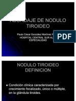 ABORDAJE NODULO TIROIDEO