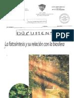La Fotosintesis Biologia