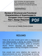 Review of Structural and Functional Characteristics of Greenhouses in European Union Countries:Part I, Design Requirements - Por Natalia Teixeira Schwab