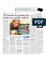 FAB7 - El sistema de producción tendrá un cambio radical