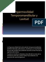 Hipermovilidad y laxitud