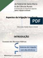 Aspectos da Irrigação Localizada - Por Natalia Teixeira Schwab